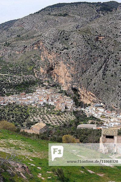 Belerda (Pedania de Quesada)  panoramic view. Jaen province  Andalucia  Spain.