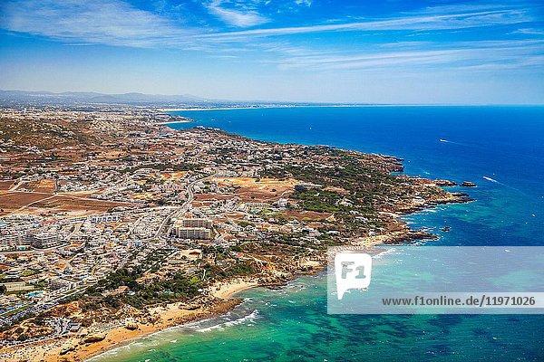 Gale and Albufeira. Faro district. Algarve. Portugal