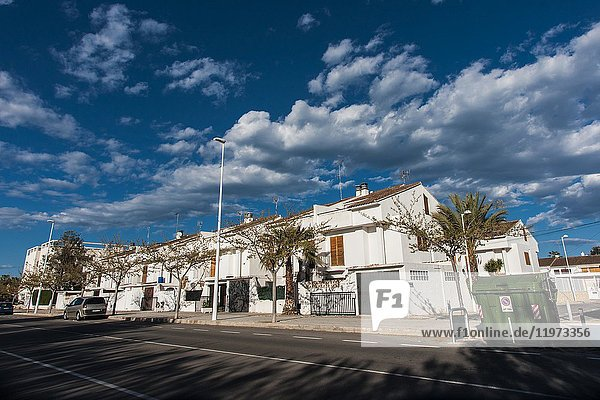 Semi-detached houses  Puerto de Sagunto  Valencia  Spain