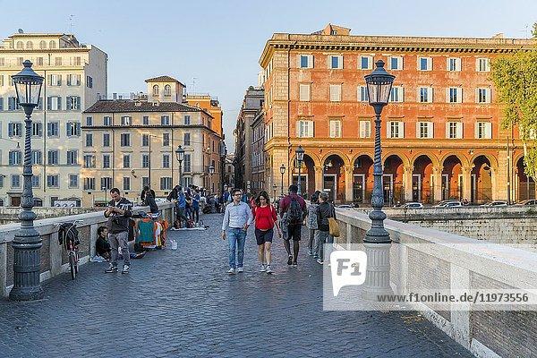 Ponte Sisto  Rome  Lazio  Italy  Europe.