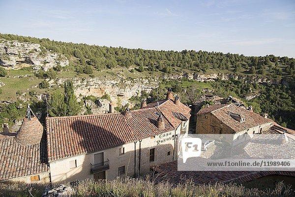 Medieval village of Calatanazor in Soria region  northern. Spain.