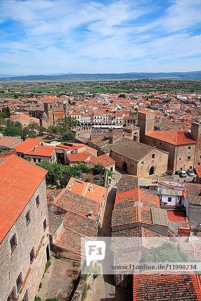 View of Trujillo. Cáceres.