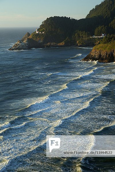 Heceta Head Lighthouse  Heceta Head Lighthouse State Park  Oregon.