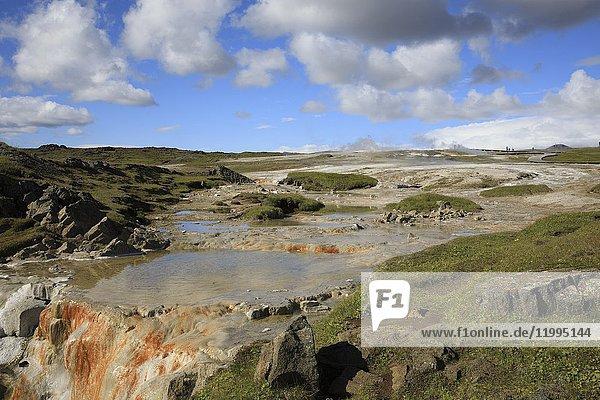 Scenery along the Kjolur Highland Road  Iceland  Europe.