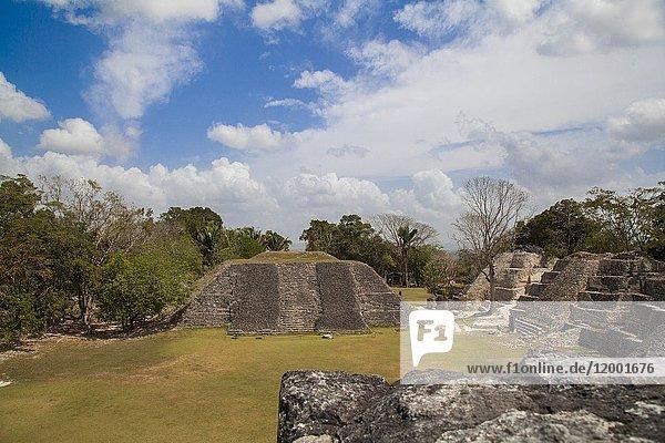 Xunantunich Mayan ruins in Belize.