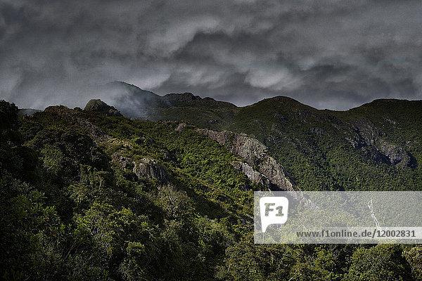 Serra da Mantiqueira, Brasilien, Südamerika, Amerika
