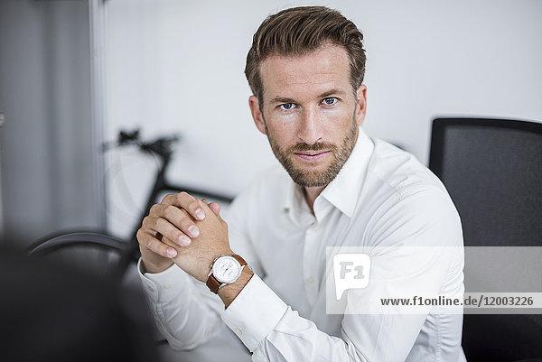 Portrait des Geschäftsmannes im Büro