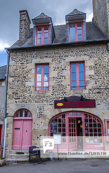 Brittany,  Fougeres,  Les Remparts creperie-grill Restaurant (on the way to Santiago de Compostela)