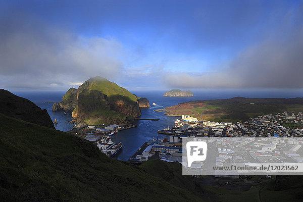 Iceland  Vestment islands. Heimaey.