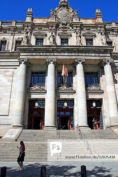 Postal and Telegraph Building  1927  architect Josep Goday i Casals  Barcelona  Catalonia  Spain