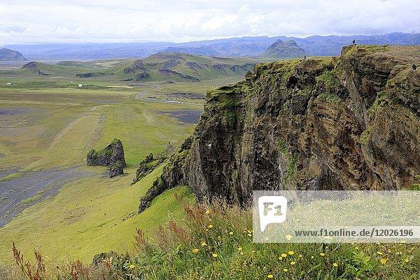 Dyrholaey promontory view  Vik  Iceland  Europe.