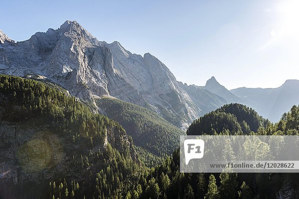 Gran Vernel  Marmolada Pass  Provinz Südtirol  Trentino-Südtirol  Alto-Adige  Italien  Europa
