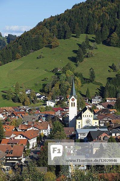 Oberstaufen  Oberallgäu  Allgäu  Schwaben  Bayern  Deutschland  Europa