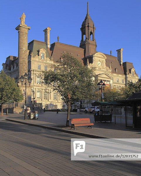 Canada  Quebec  Montreal  City Hall  Hotel de Ville .