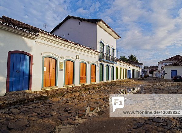 Old Town  Paraty  State of Rio de Janeiro  Brazil  South America