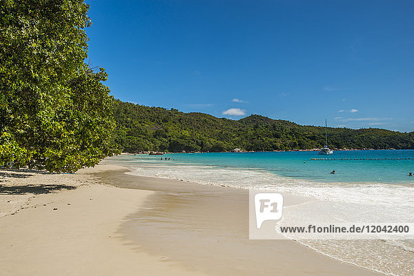 Anse Lazio Beach  Praslin  Republic of Seychelles  Indian Ocean  Africa