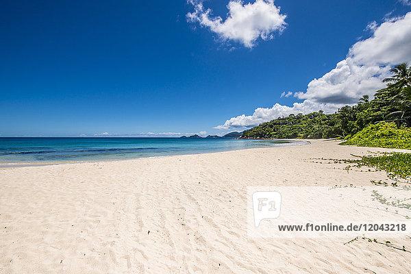 Anse A La Mouche Beach  Mahe  Republic of Seychelles  Indian Ocean  Africa