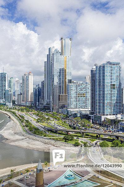 City skyline  Panama City  Panama  Central America