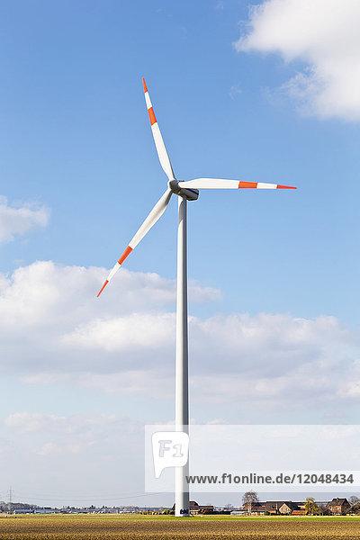 Wind Turbine in Countryside