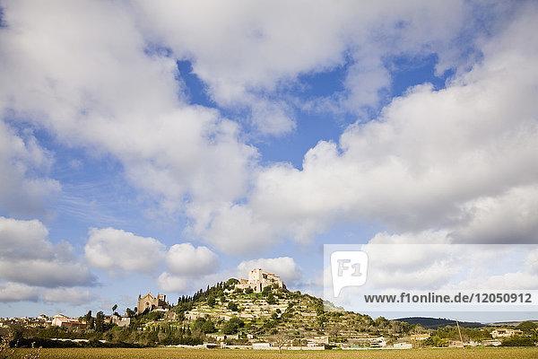 Castle in Arta  Mallorca  Spain