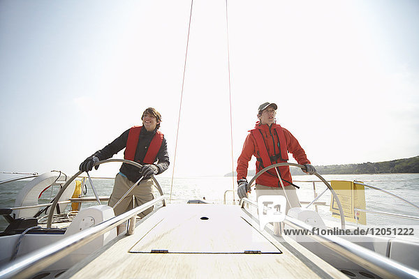 Men on Yacht