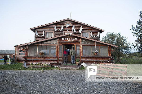 Bettles Lodge At Bettles  Interior Alaska  USA