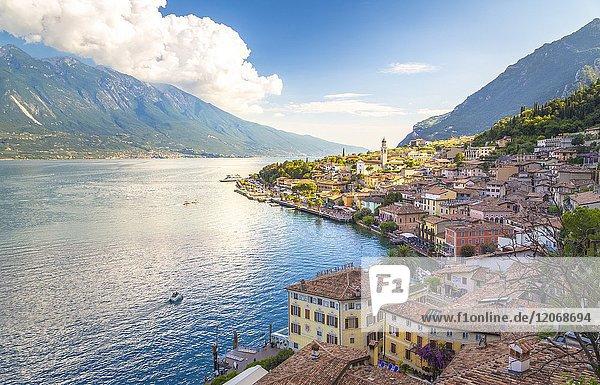 Limone sul Garda  Garda Lake  Brescia Province  Lombardy  Italy.
