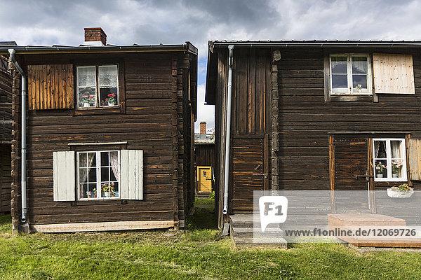 Holzhäuser in Bonnstan  Schweden