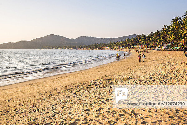 Palolem Beach  Goa  India  Asia