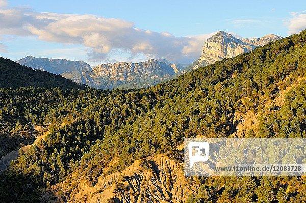 Peña Montañesa.Pyrenees mountains. Aínsa. Huesca province. Aragón. Spain