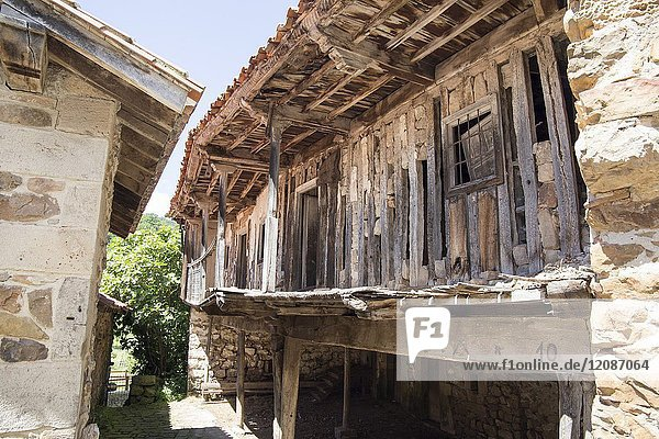 Barcena Mayor is one of the most beautiful villages in Spain. Cantabria  Spain.