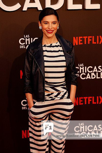 Premiere of the Netflix series Las chicas del cable.Irene Visedo.Madrid. 27/04/2017.(Photo by Angel Manzano)..
