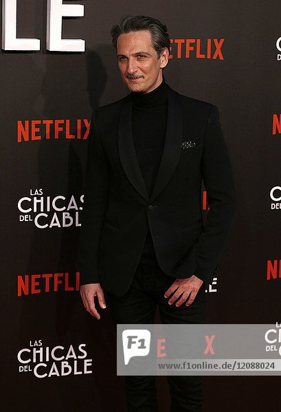 Premiere of the Netflix series Las chicas del cable.Marta Larralde.Madrid. 27/04/2017.(Photo by Angel Manzano)..