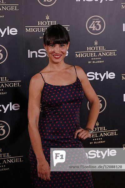 Xenia Tostado attends el jardin de Miguel Angel and In Style beauty night in Madrid  May  24  2017 (Photo by Angel Manzano)..