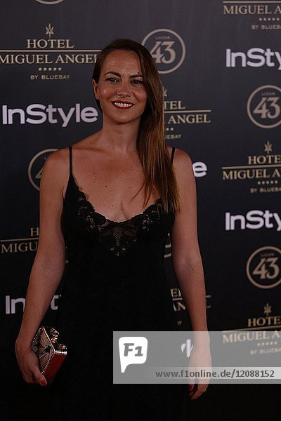Sandra Collantes attends el jardin de Miguel Angel and In Style beauty night in Madrid  May  24  2017 (Photo by Angel Manzano)..