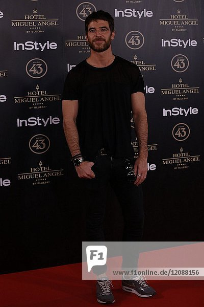 Alfonso Bassave attends el jardin de Miguel Angel and In Style beauty night in Madrid  May  24  2017 (Photo by Angel Manzano)..