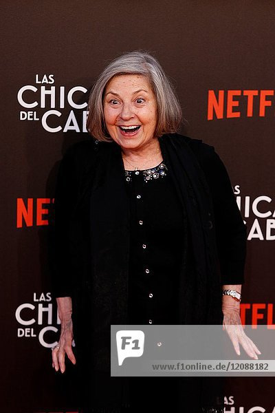 Premiere of the Netflix series Las chicas del cable.Tina Sainz.Madrid. 27/04/2017.(Photo by Angel Manzano)..