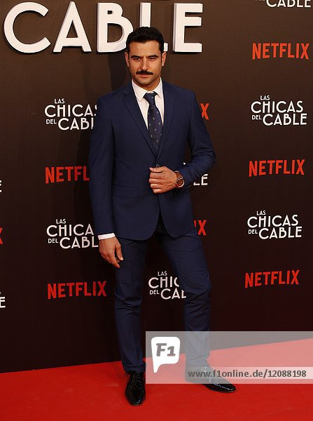 Premiere of the Netflix series Las chicas del cable.Antonio Velazquez.Madrid. 27/04/2017.(Photo by Angel Manzano)..