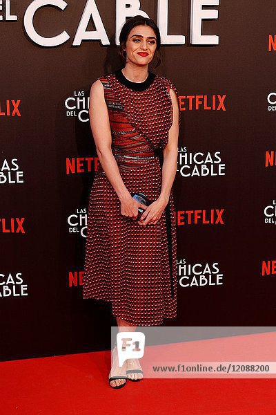 Premiere of the Netflix series Las chicas del cable.Olivia Molina.Madrid. 27/04/2017.(Photo by Angel Manzano)..
