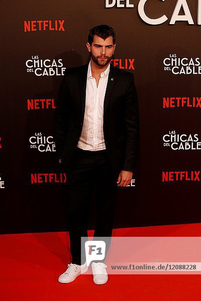 Premiere of the Netflix series Las chicas del cable.Diego Dominguez.Madrid. 27/04/2017.(Photo by Angel Manzano)..