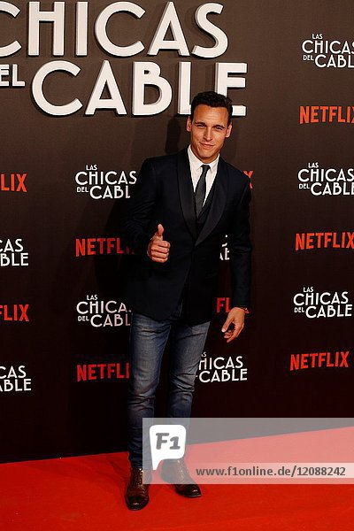 Premiere of the Netflix series Las chicas del cable.Ricardo Sales.Madrid. 27/04/2017.(Photo by Angel Manzano)..