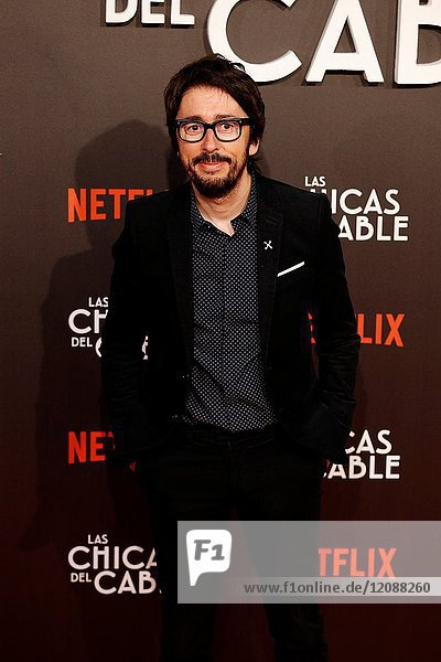 Premiere of the Netflix series Las chicas del cable.Enrique Domingo Perez Flipy.Madrid. 27/04/2017.(Photo by Angel Manzano)..