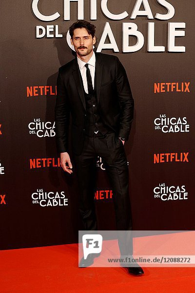 Premiere of the Netflix series Las chicas del cable.Sergio Mur.Madrid. 27/04/2017.(Photo by Angel Manzano)..