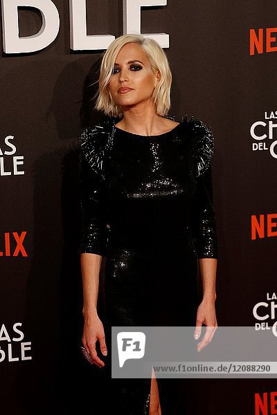 Premiere of the Netflix series Las chicas del cable.Ana Fernandez.Madrid. 27/04/2017.(Photo by Angel Manzano)..