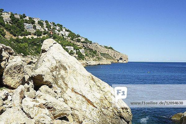 Ambolo Beach  Cabo la Nao  Javea  Alicante  Valencia  Spain  Europe