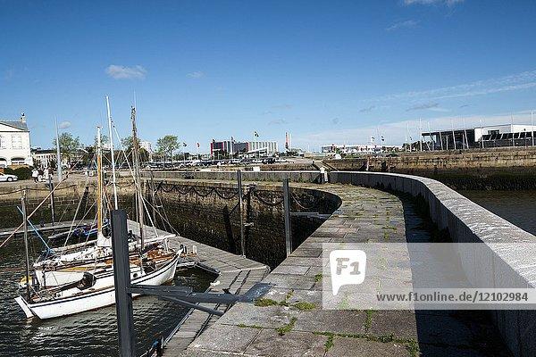 Cherbourg-Octeville Port. Cherbourg-Octeville  Manche Department  Normandy  France  Europe.