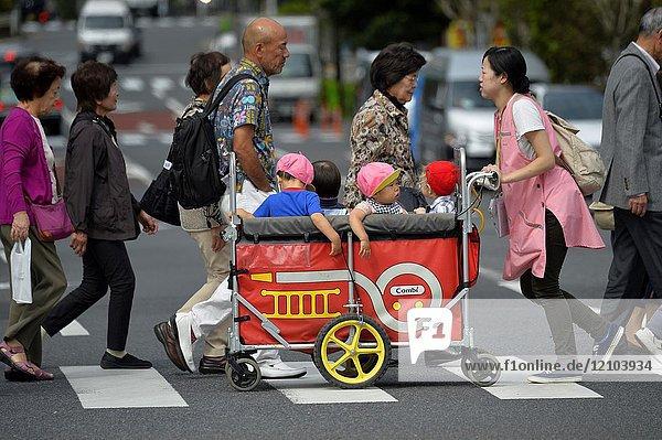 Nursery in Tokyo Japan Asia.
