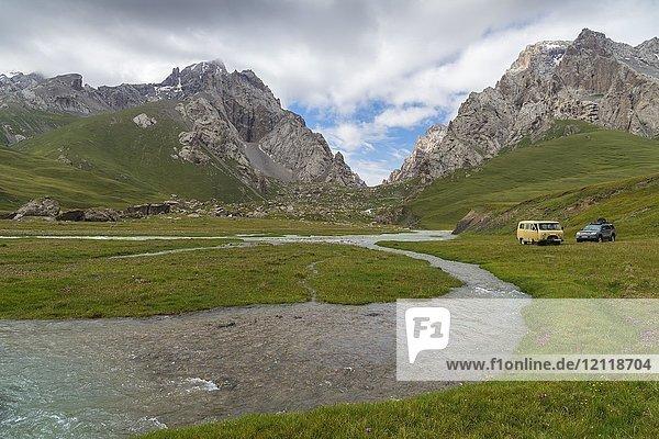 Kurumduk-Tal  Provinz Naryn  Kirgisistan