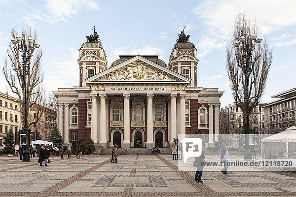 Nationaltheater Iwan Wasow  Sofia  Bulgarien  Europa