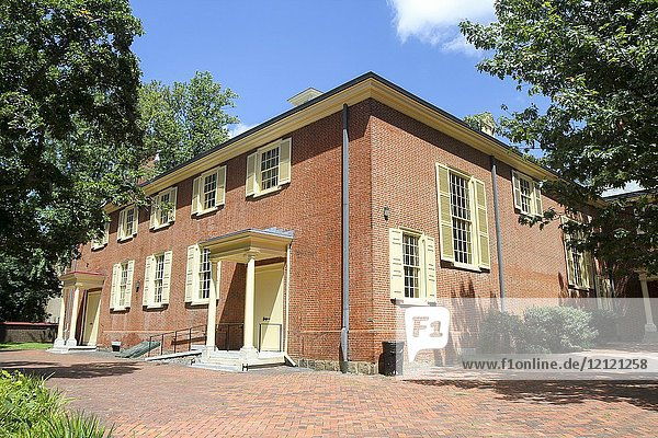 Arch Street Friends Meeting House  Independence National HIstorical Park  Philadelphia  Pennsylvania  United States.